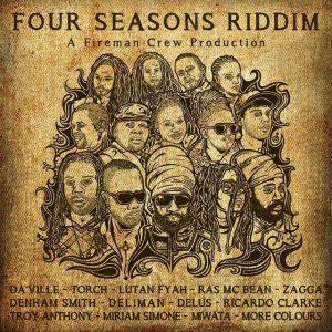 """Das Cover zur Single """"Näher zusammen"""" von Miwata auf dem Album """"Four Seasons Riddim"""""""
