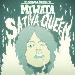 """Das Cover zur Single """"Sativa Queen"""" von Miwata"""