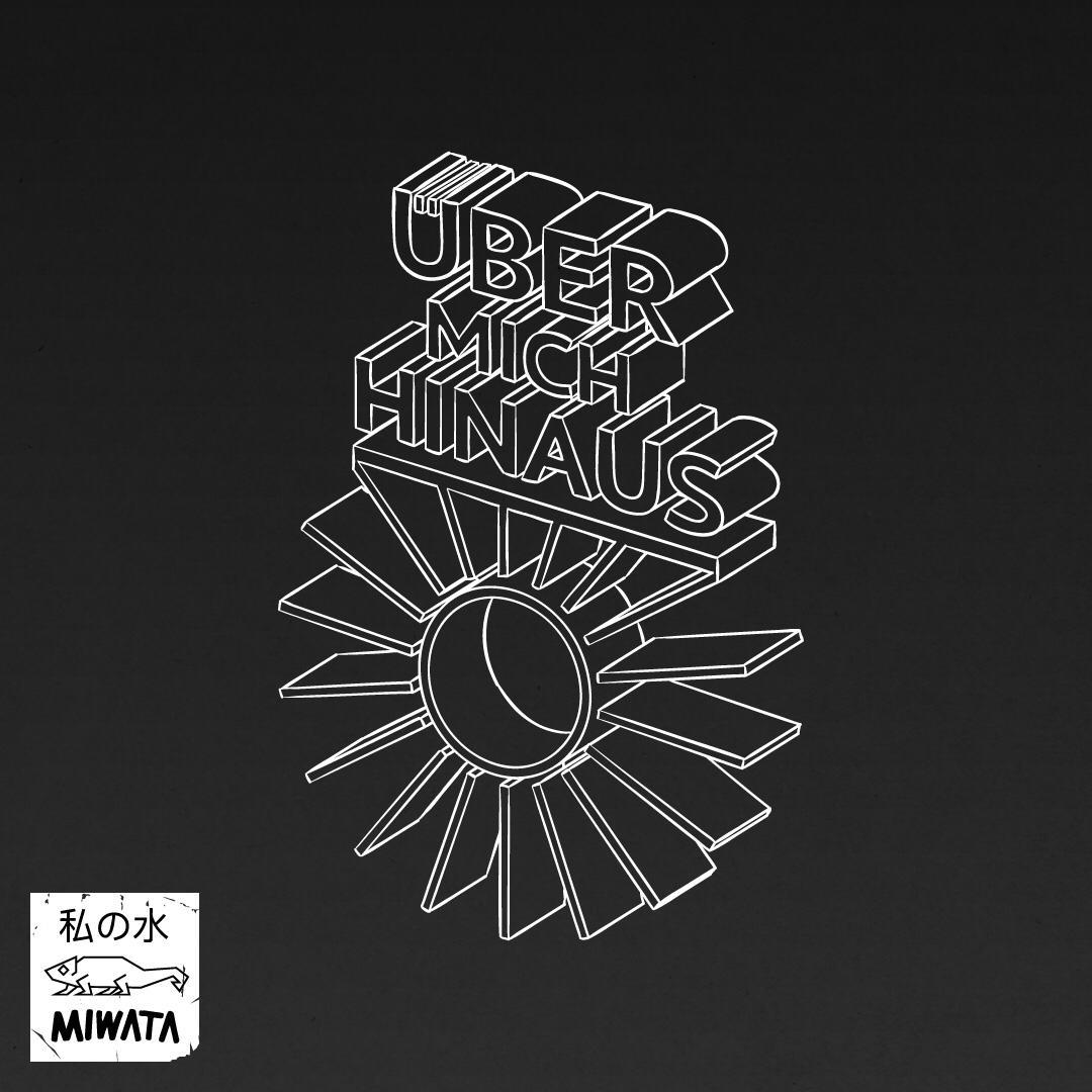 """Das Cover zur Single """"Über mich hinaus"""" von Miwata"""