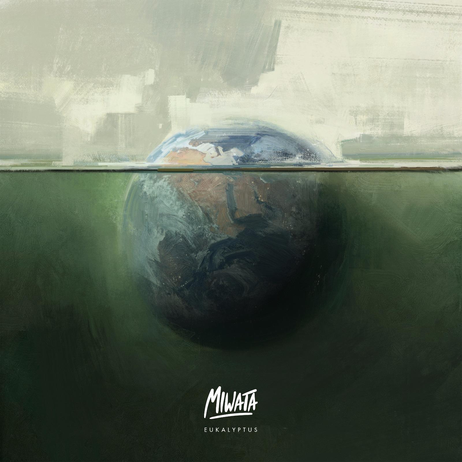 "Das Cover vom Album ""Eukalyptus"" von Miwata"
