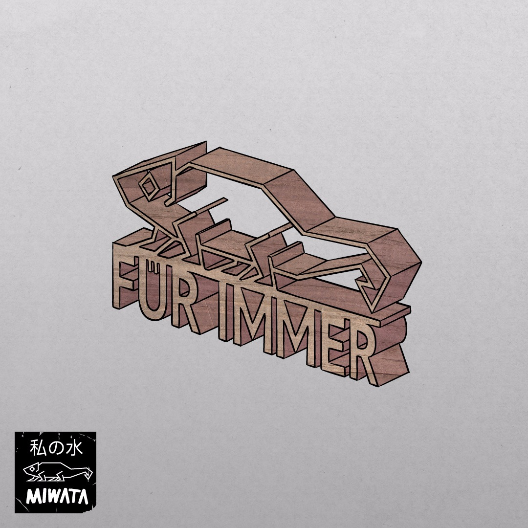 """Das Cover zur Single """"Für immer"""" von Miwata"""