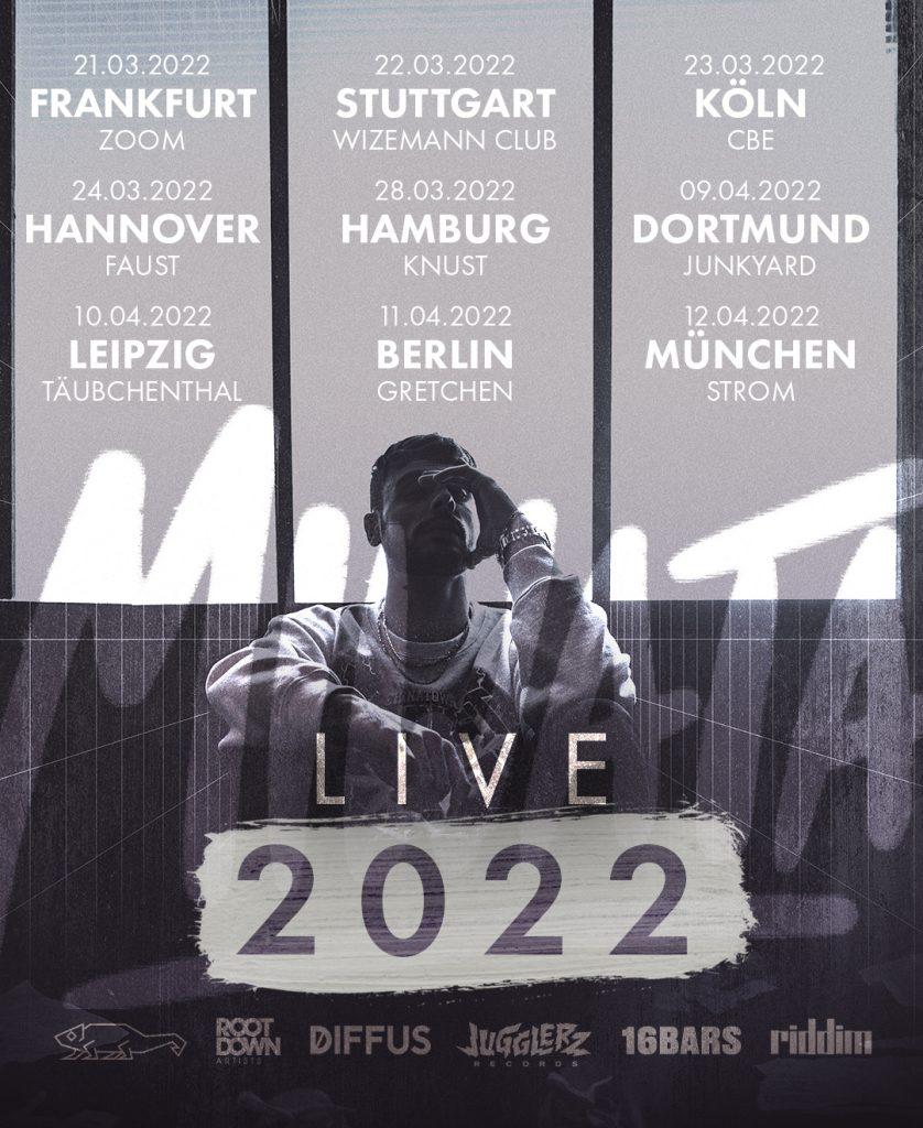Miwata Tour Plakat 2022